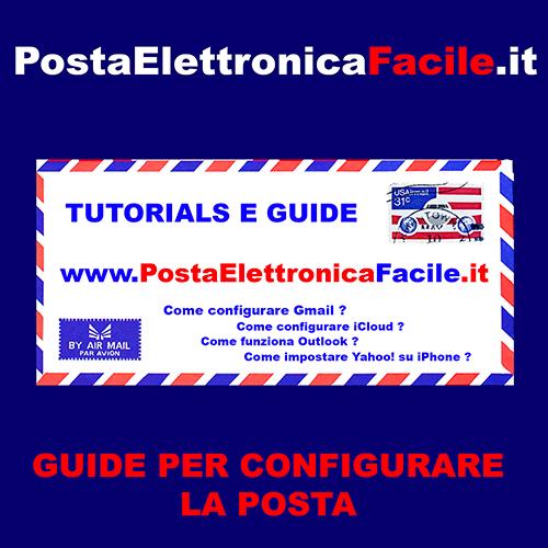 tutorials e guide sulla posta elettronica